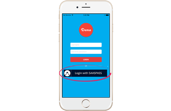 SAASPASS Mobile App Authentication