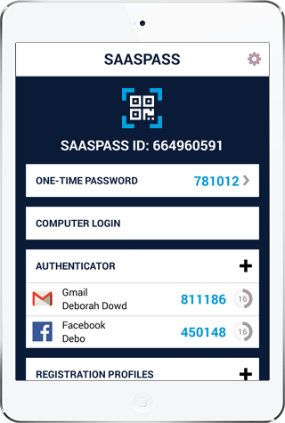 two factor authentication for ipad