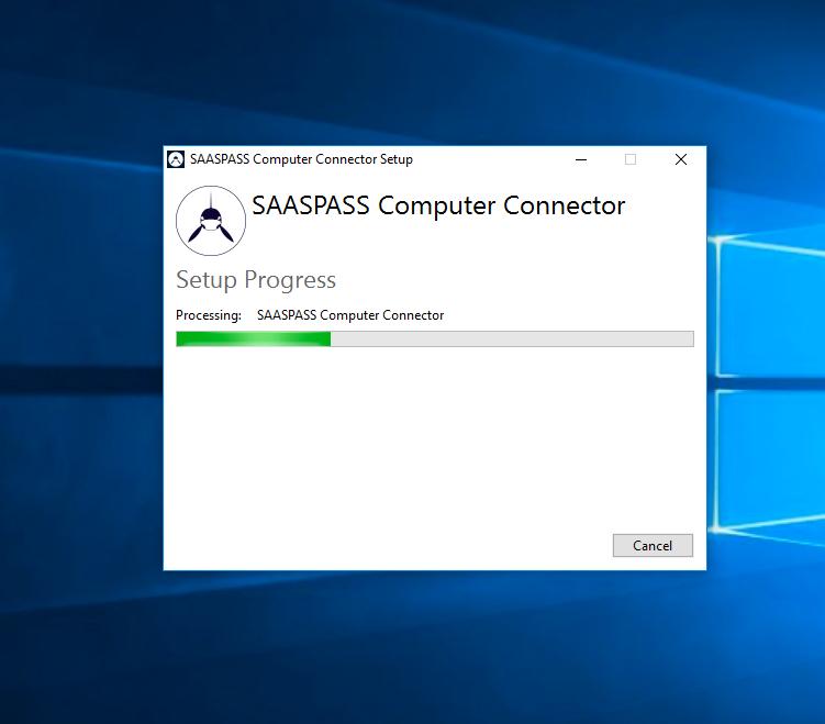 SAASPASS windows Computer Connector